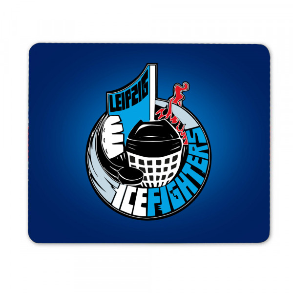 "IceFighters Leipzig Mousepad "" Blue """