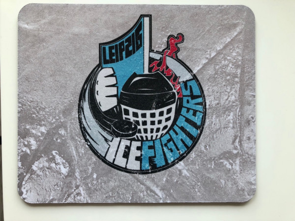 "IceFighters Leipzig Mousepad "" Ice """